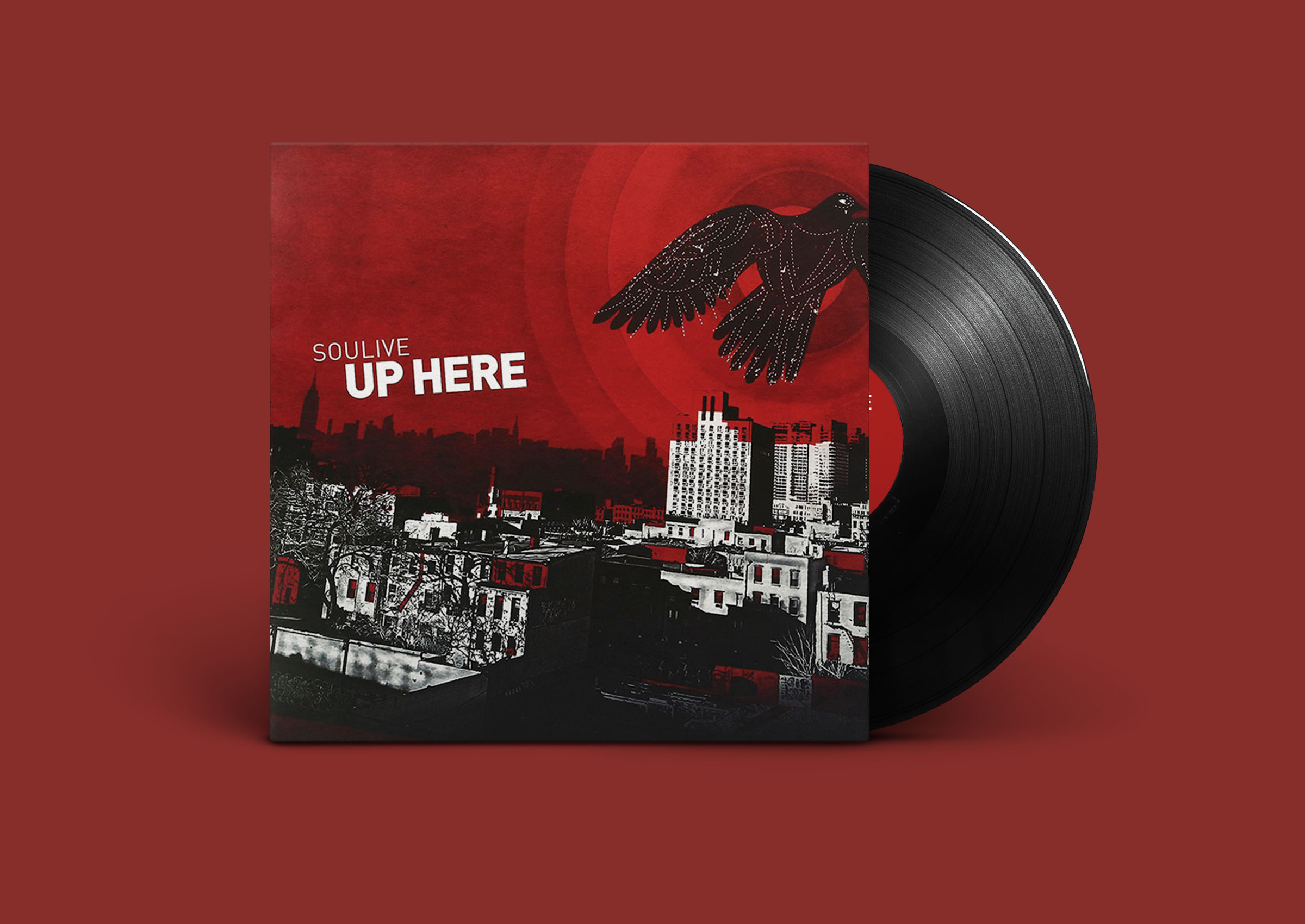 soulive up here album artwork design
